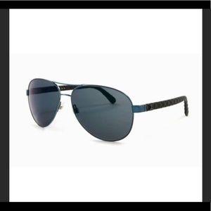 CHANEL black aviators 4204